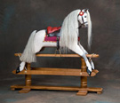 Rivelin rocking horse by Ringinglow Rocking Horse Company