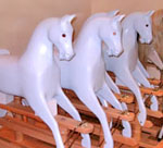 Traditional Wooden Rocking Horse Kit from The Ringinglow Rocking Horse Company