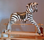 Rocking Zebra by Ringinglow Rocking Horse Company