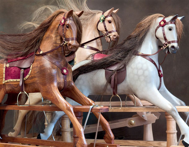 Mayfield Rocking Horse - Wooden Rocking Horses by Ringinglow Rocking Horse Company