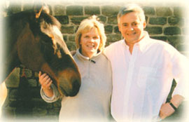 Judy and Harry Cridland welcome you to the Dapple Grey Rocking Horse website.