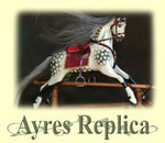 Ayres Replica Rocking Horse to buy from Ringinglow Rocking Horses