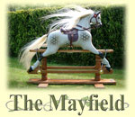 The Mayfield Rocking Horse to buy from Ringinglow Rocking Horses