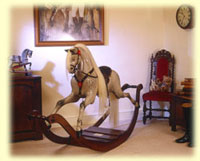 Rocking Horse picture from the Mr Dapple Story by The Ringinglow Rocking Horse Company